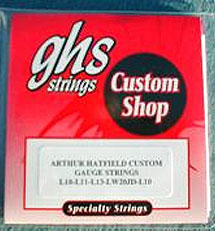 Arthur Hatfield Custom Gauge strings